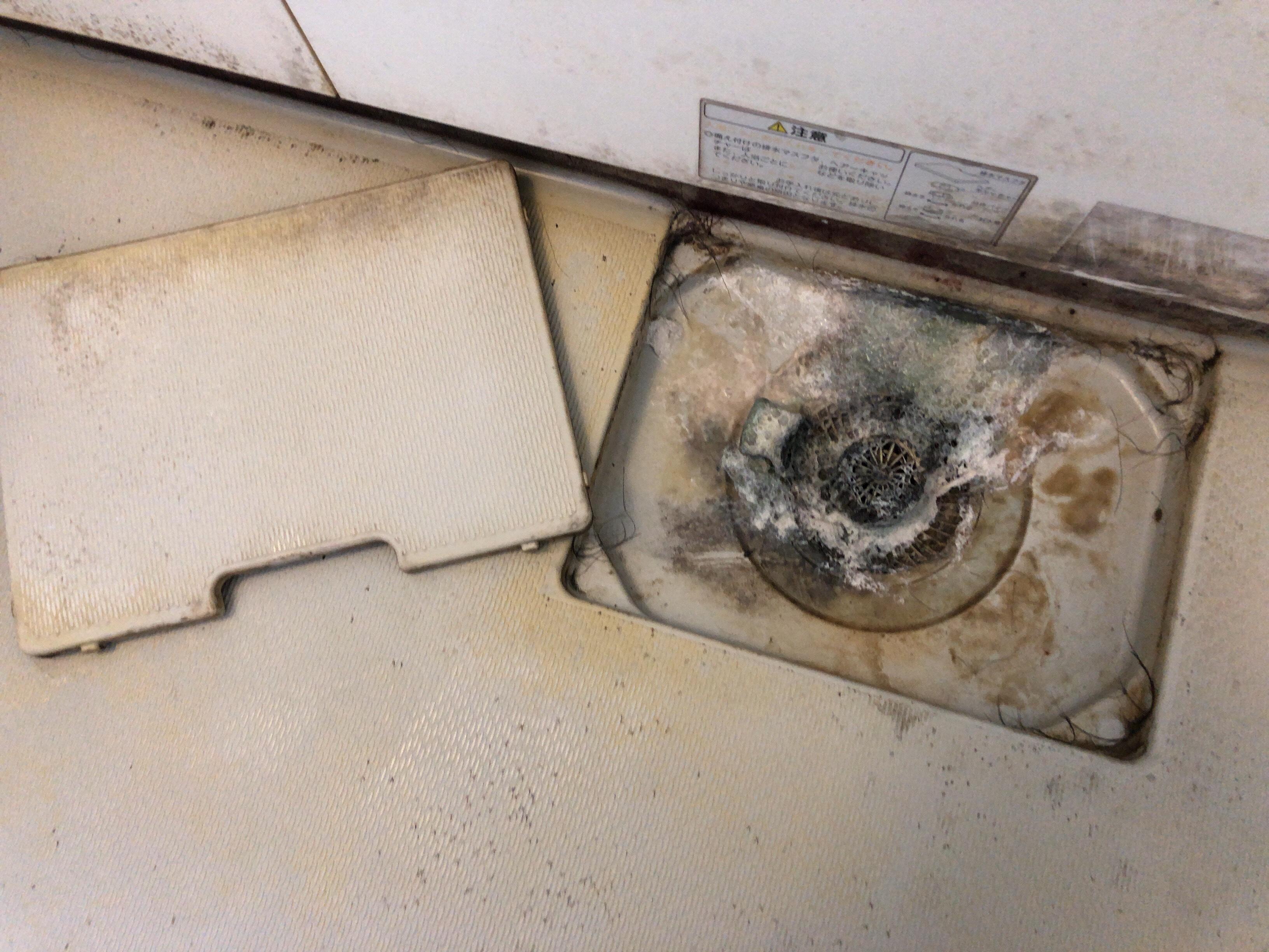 浴室 汚れ ♩ 排水口