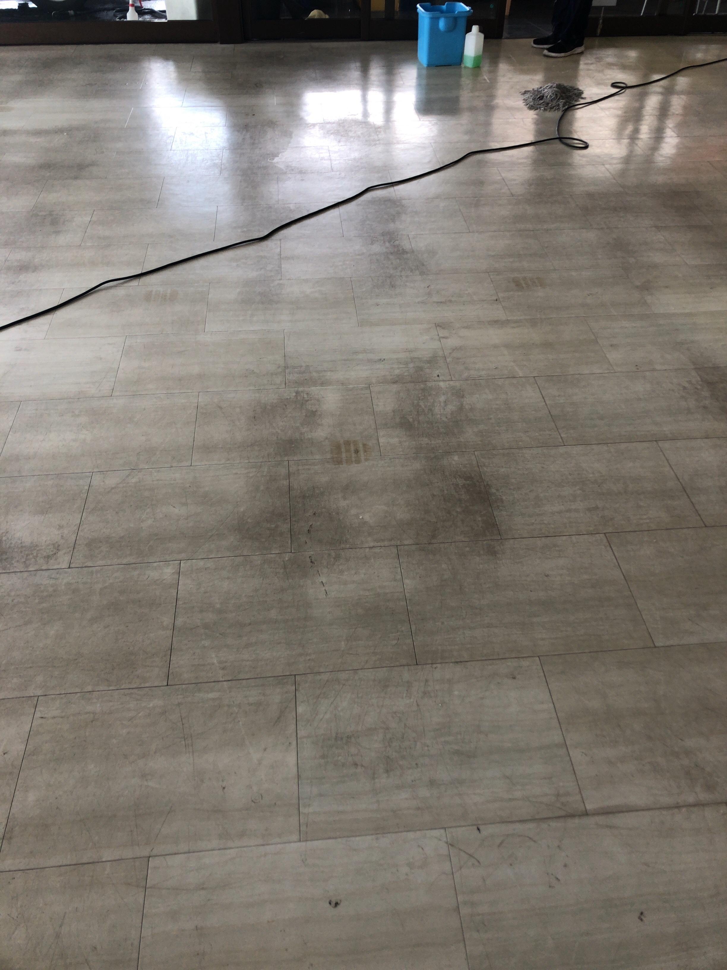 床さん ♬ 洗浄 ワックス塗布