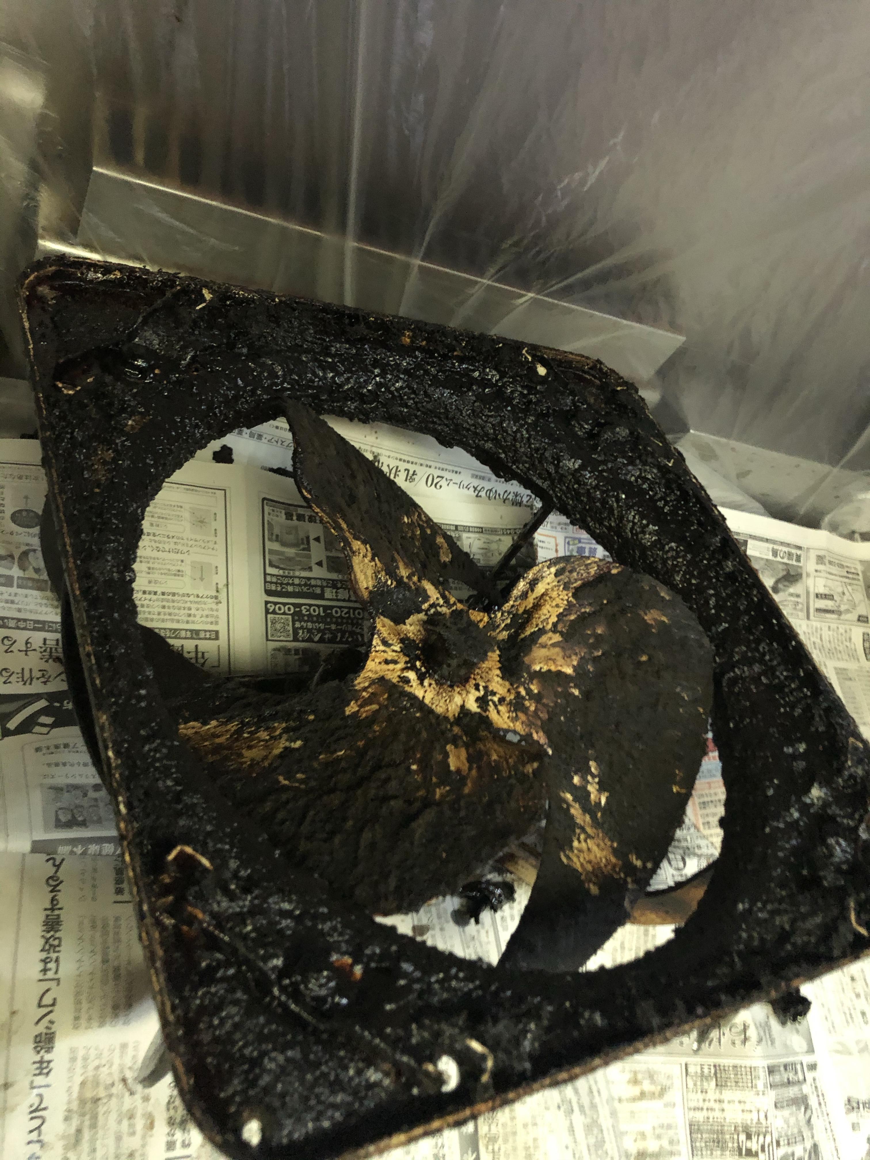 厨房 フード 油汚れ