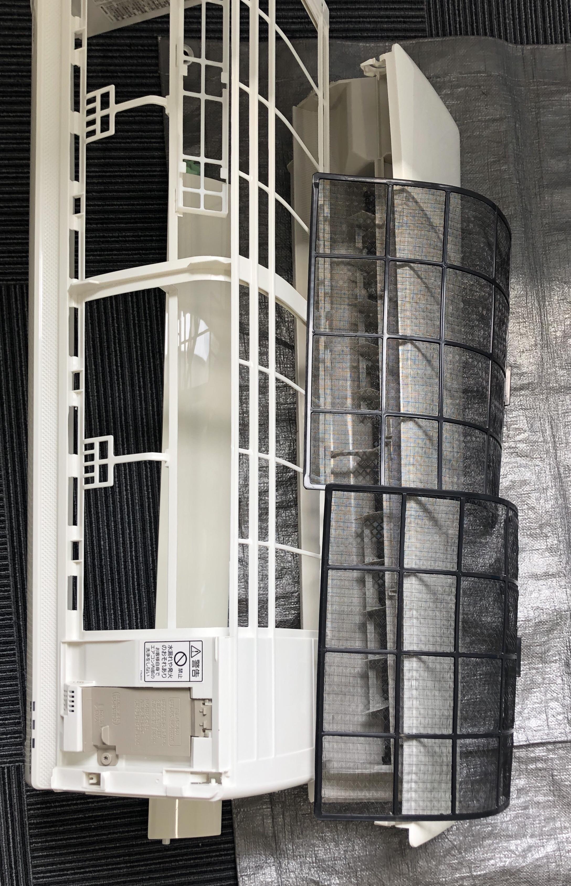 天井埋込 カセット型 天吊型 業務用エアコン 分解 洗浄