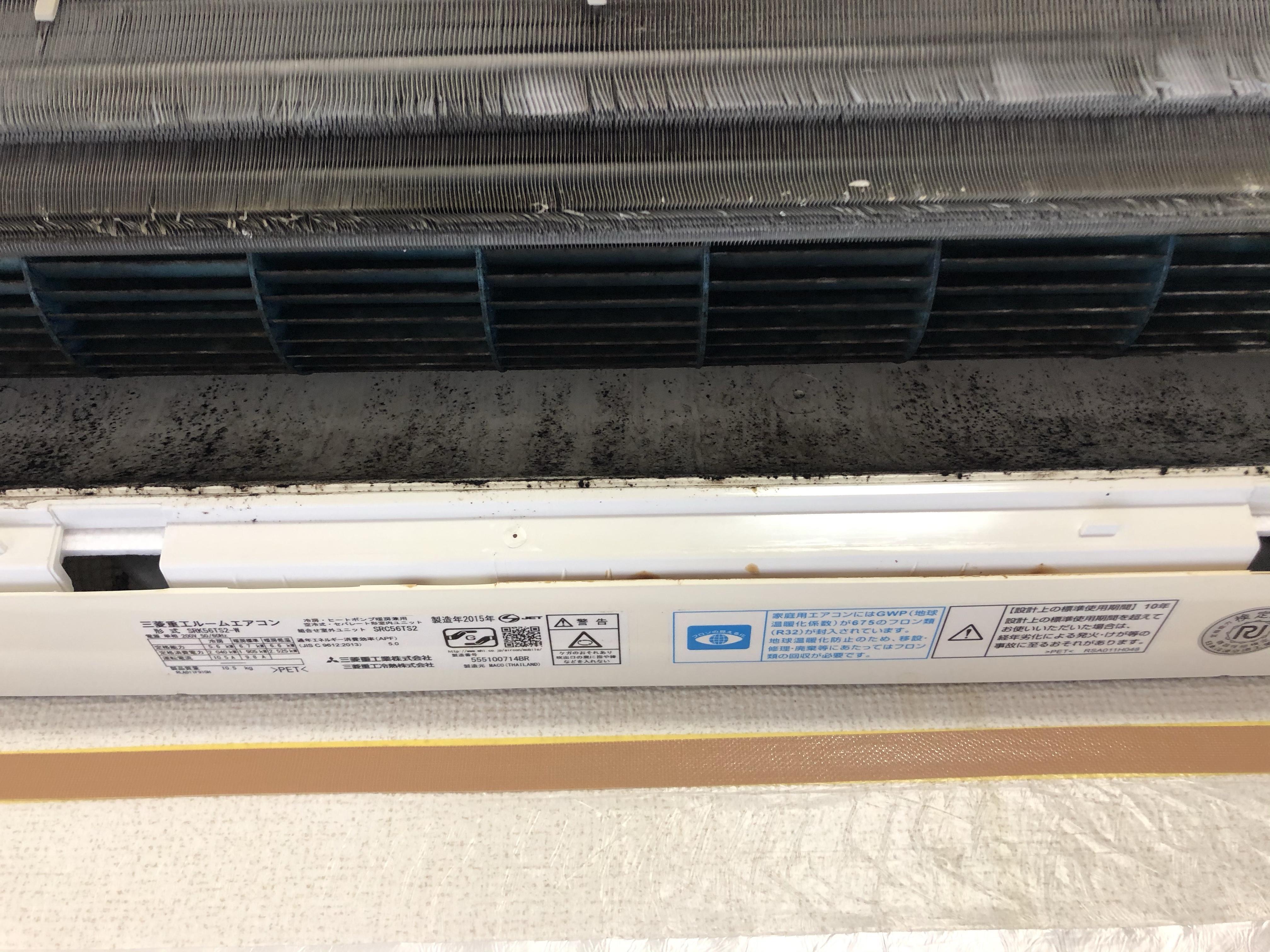 壁掛け エアコン スタンダード 分解 洗浄